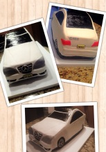 first time car cake